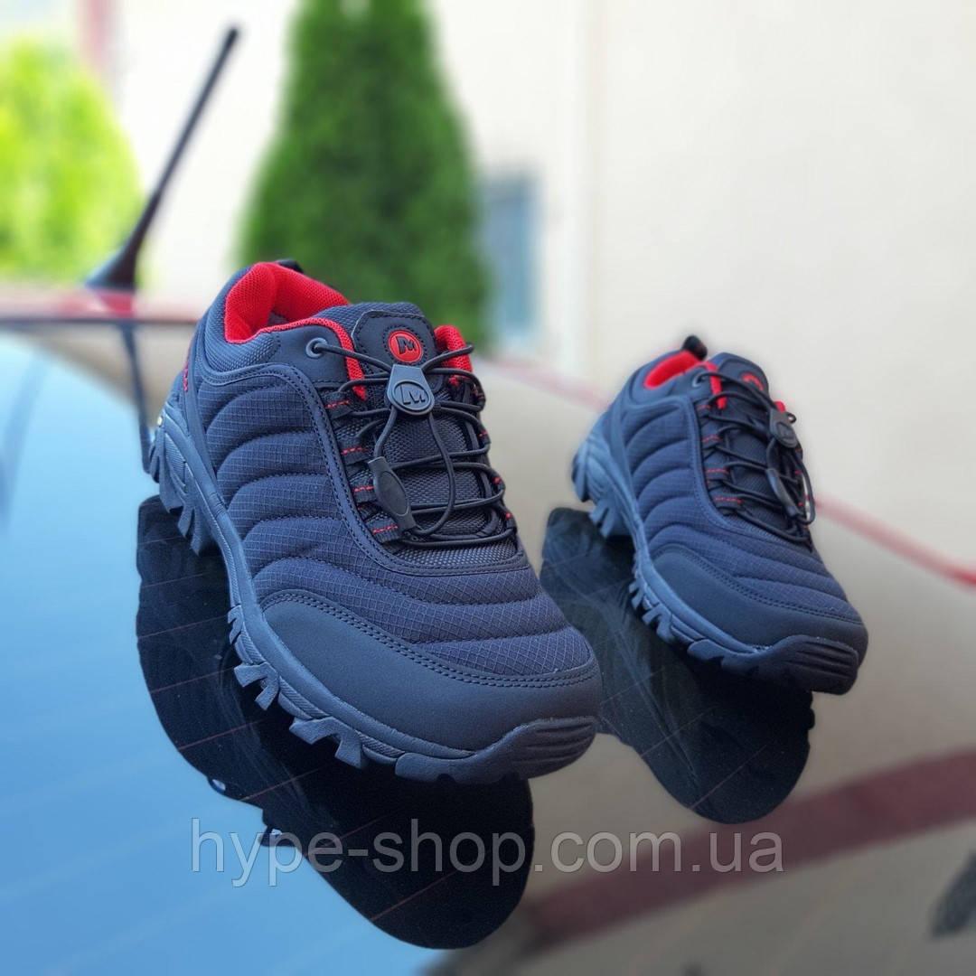 Чоловічі зимові кросівки Merrell Vibram чорний репліка