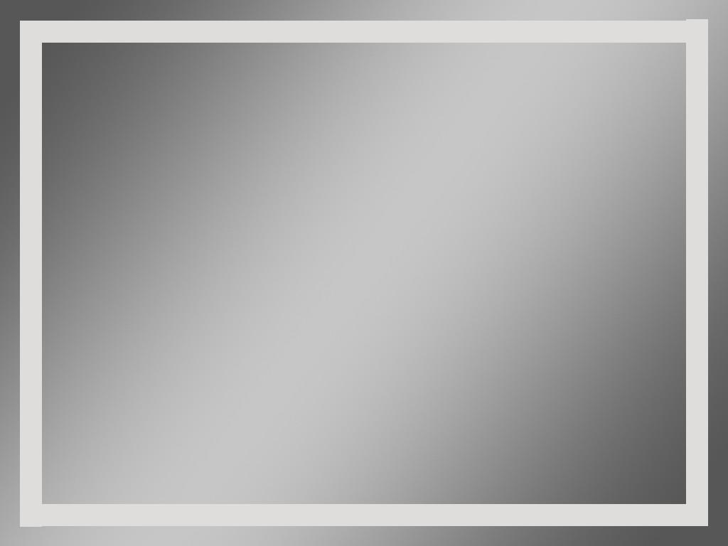 Зеркало влагостойкое в ванную комнату 50 х 70 см кант 20mm