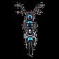 Электрический мопед  CITY gy-4 350W/48V/20AH(GL) (серо-голубой), фото 2