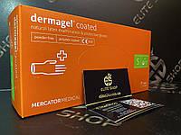 Медицинские перчатки Dermagel Coated из натурального латекса, без пудры, не стерильные, уп./100 шт