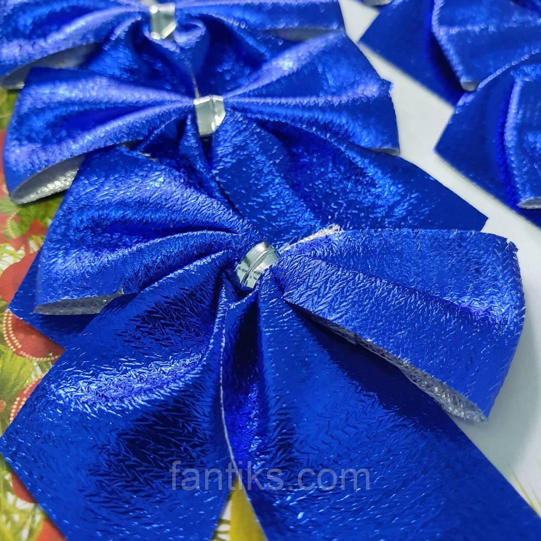 Набор бантиков для декора (12 шт.) - синие