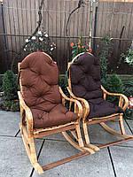 Кресло-качалка Принцесса-1  разборная из лозы и бука (в ассортименте)