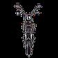 Электрический мопед  R1 RACING  Athena 500W/48V/20AH(MG) (черный), фото 4