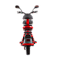 Электрический мопед  R1 RACING  Athena 500W/48V/20AH(DZM) (красный), фото 3
