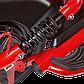 Электрический мопед  R1 RACING  Athena 500W/48V/20AH(DZM) (красный), фото 4