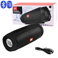 Bluetooth-колонки JBL CHARGE 4, c функцією speakerphone, радіо, black, фото 1