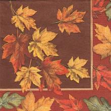 Декупажная салфетка Осение листья 5330