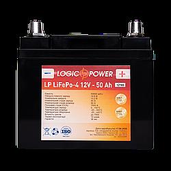 Аккумулятор для автомобиля литиевый LP LiFePO4 12V - 50 Ah (+ справа, обратная полярность) пластик
