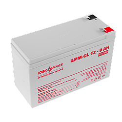 Аккумулятор гелевый LogicPower LPM-GL 12 - 9 AH