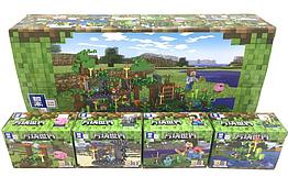 Конструктор My World Minecraft Майнкрафт 16 в 1 QL 0565