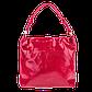 Кожаная женская сумка Realer 2032-1 красная, фото 5