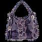 Женская сумка Realer P059 синяя, фото 2