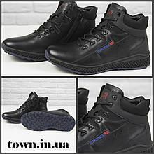 Зимние мужские ботинки теплые на меху Stylen Gard М8993-2 черные
