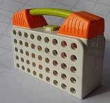 Мозаика детская Limo Toy на 215 деталей, 4 в 1, с насадкой шуруповёрт в чемодане М5482, фото 3