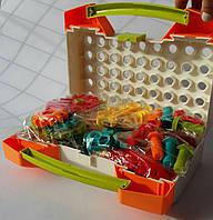Мозаїка дитяча Limo Toy на 215 деталей, 4 в 1, з насадкою шуруповерт у валізі М5482, фото 1