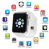 Smart часы A1 + камера, white, фото 1