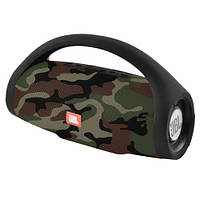 Bluetooth-колонка JBL BOOMS BOX MINI, c функцией PowerBank, speakerphone, радио, camouflage