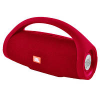Bluetooth-колонка JBL BOOMS BOX MINI, c функцией PowerBank, speakerphone, радио, red