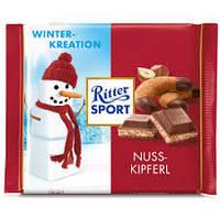 Шоколад Ritter Sport Nuss Kipferl 100 г. Германия!, фото 1