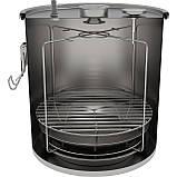 Коптильня для дома на 18 л для газовой плиты, фото 4