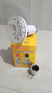 Фонарь + лампа аварийная 1892L (10+1 LED, 2 режима, 1000mAh)
