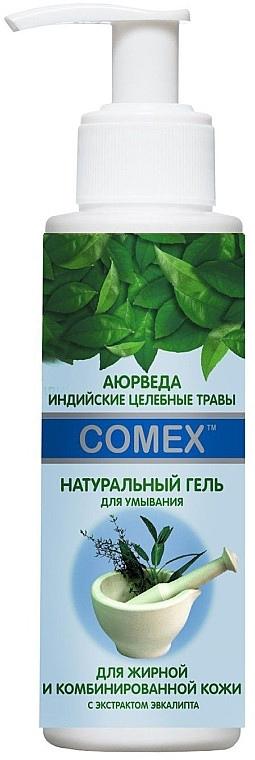 Гель для вмивання Comex Для жирної та комбінованої шкіри натуральний 150 мл