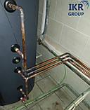 Рекуператор тепла, теплообменник для охладителя молока 200 литров, фото 3