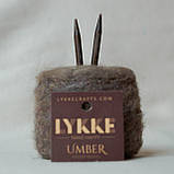 Съемные  укороченные спицы Lykke Umber 3,75, фото 2