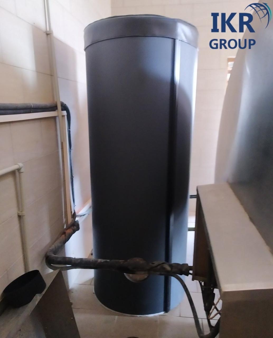 Рекуператор тепла, теплообменник для охладителя молока 200 литров