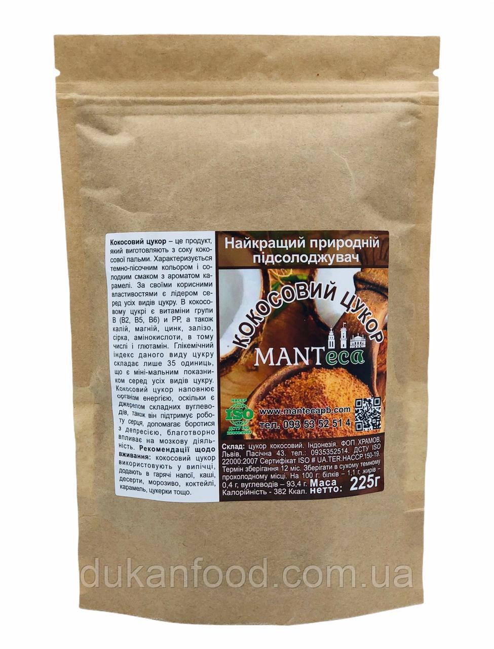 Кокосовый сахар Manteca, 225 г