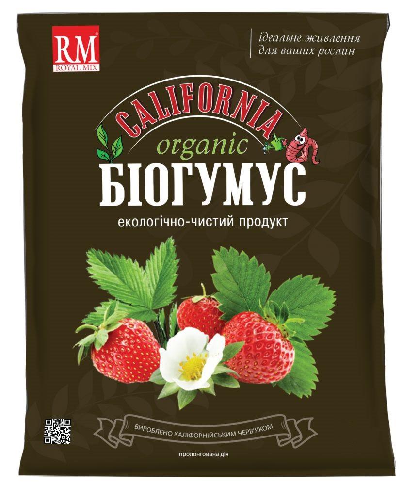 """Биогумус """"Калифорния"""" - Органическое удобрение, 5 кг"""