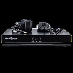 IP видеорегистратор NVR 8-канальный Green Vision GV-N-S 001/08 1080p