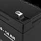 Аккумулятор AGM LP 6-14 AH SILVER, фото 3