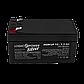 Аккумулятор кислотный AGM LogicPower LP 12 - 1,3 AH, фото 2