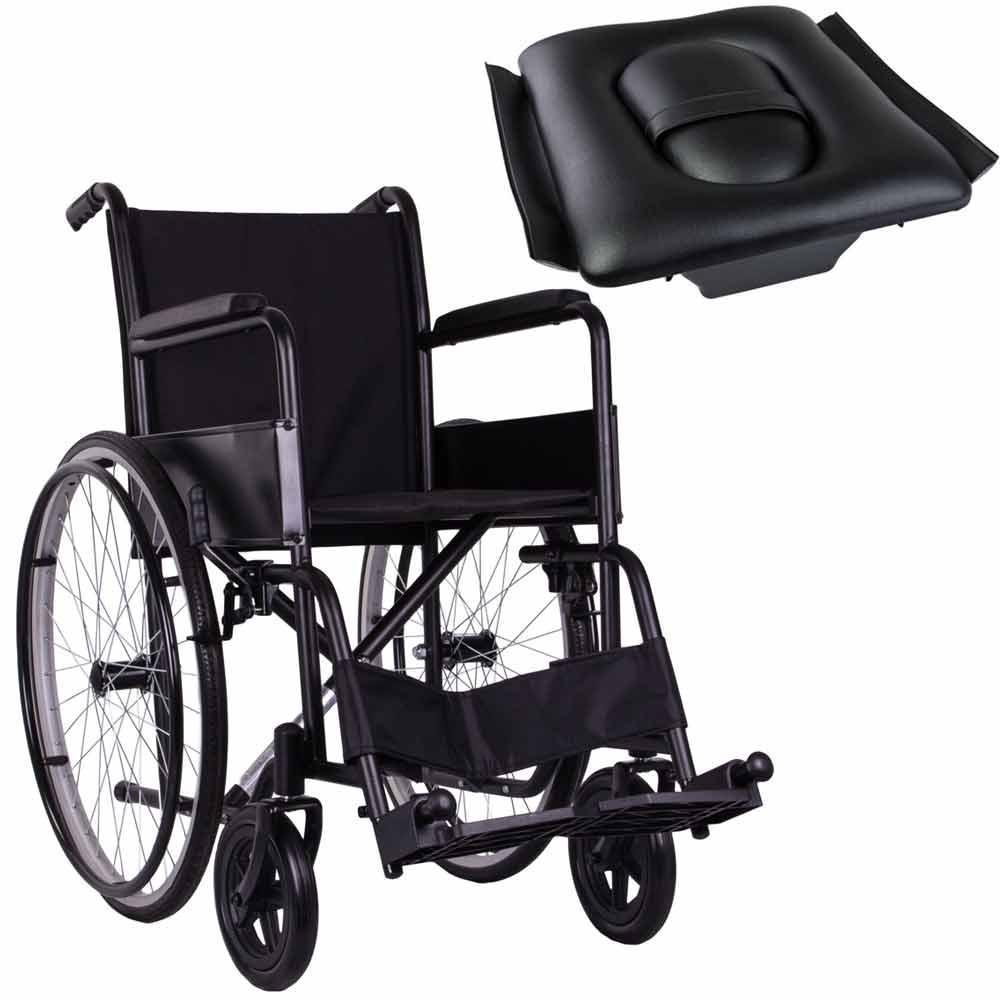 Стандартная инвалидная коляска, OSD Economy на литых колесах с санитарным оснащением