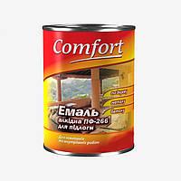 Фарба Жовто-Коричнева ПФ-266 для підлоги  Комфорт 2.8 кг., фото 1