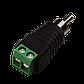 Коннектор для передачи аудио и видеосигнала Green Vision GV RCA/M (male), фото 2