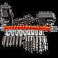 Аккумуляторный шуруповерт Pracmanu (черный) НАБОР с насадками + Доп. Аккумулятор 2шт, фото 4