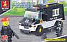 Конструктор Sluban серия Военная полиция M38-B1600 (Патрульная машина)