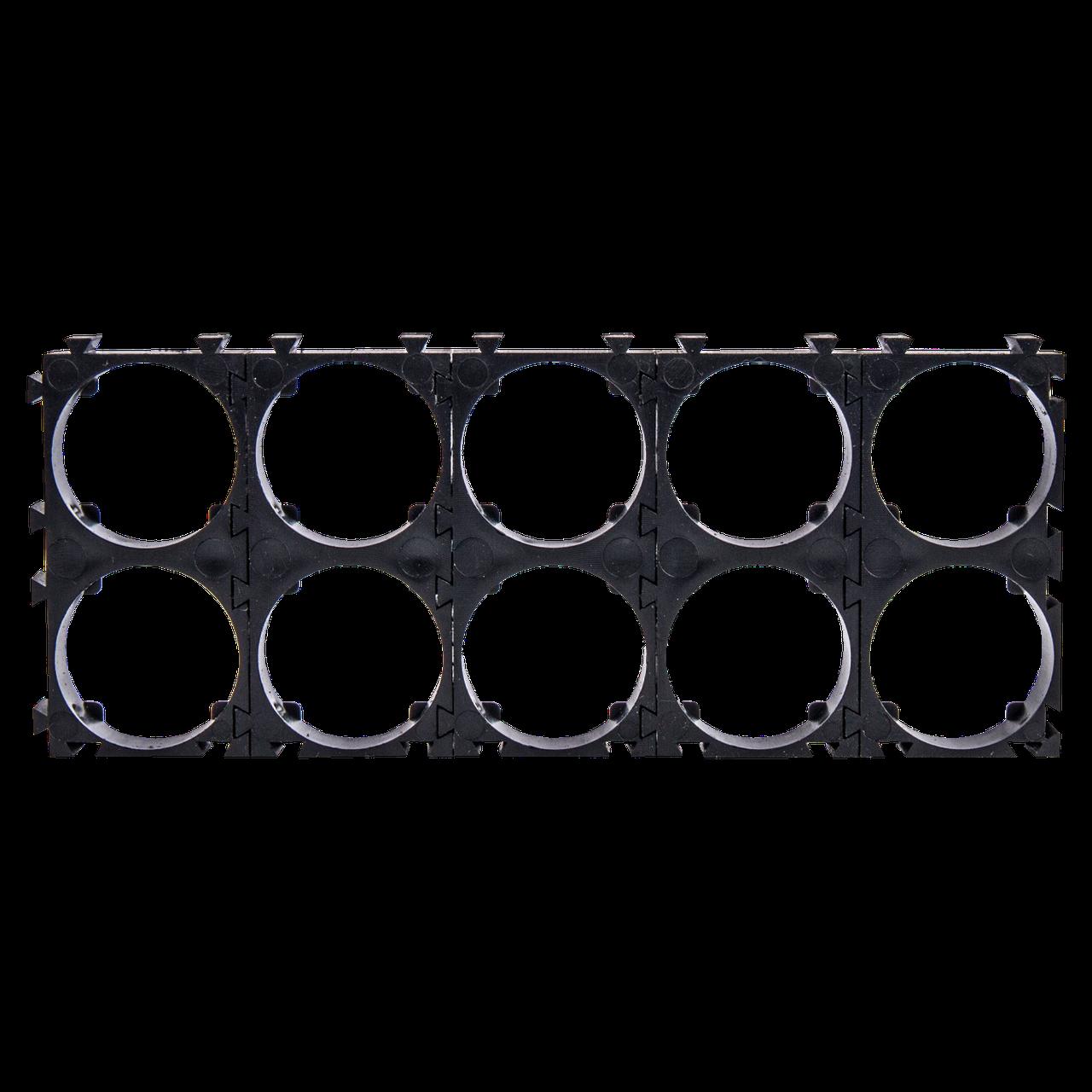 Держатель (кронштейн) аккумуляторного блока 18650 2х5 (10 шт)