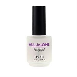 """All-in-One Naomi  """"Универсальное покрытие 3 в 1"""" 15ml"""