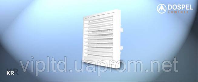 Вентиляционные решетки (ABS) DOSPEL KR 150, Евросоюз, Польша - Интернет-магазин VIPLTD в Харькове