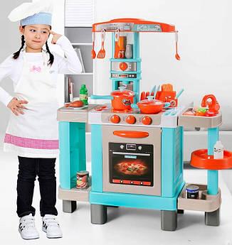 Большая интерактивная кухня Kids Chef для детей с аксессуарами008-938А 87 см