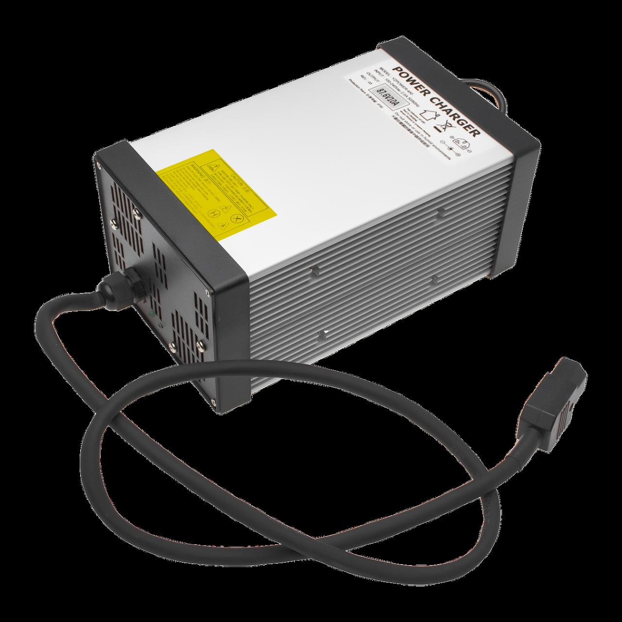 Зарядний пристрій для акумулятора LiFePO4 72V (87.6 V)-10A-720W