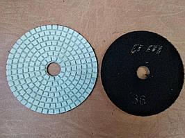 Гибкий полировальный круг (черепашка) Ø100 Р36