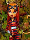 Лялька Monster High Торалей (Toralei Stripe Cat Tastrophe) з серії Power Ghouls Монстр Хай, фото 3