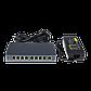 Коммутатор сетевой POE GreenVision GV-004-Е-08+1P, фото 2