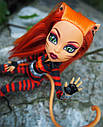 Лялька Monster High Торалей (Toralei Stripe Cat Tastrophe) з серії Power Ghouls Монстр Хай, фото 7
