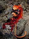 Лялька Monster High Торалей (Toralei Stripe Cat Tastrophe) з серії Power Ghouls Монстр Хай, фото 9