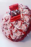 Букет из  конфет  Raffaello Торжественный, фото 4